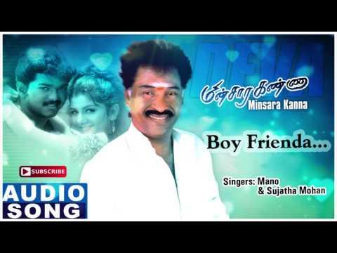 Boy Friendai | Minsara Kanna Songs Lyrics