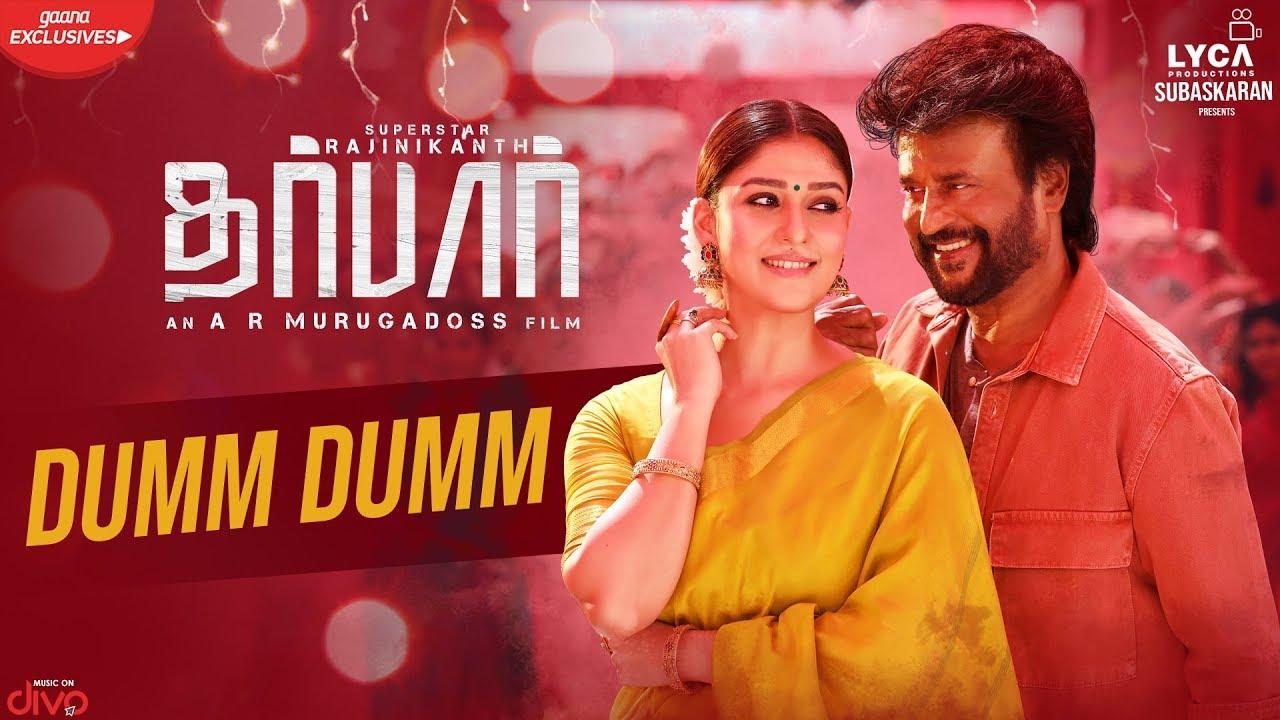 Dumm Dumm Song Lyrics from movie Darbar. Dumm Dumm song sung by Nakash Aziz. Dumm Dumm Song Composed by Anirudh Ravichander. Dumm Dumm